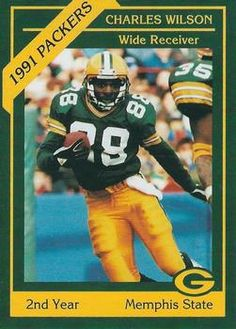 WR/KR Charles Wilson -- Green Bay Packers // 1991 Police