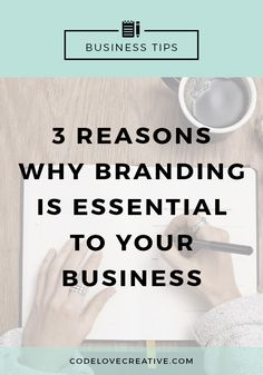 3 Reasons Why Branding is Essential To Your Creative Business