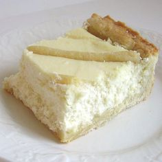 This recipe for traditional Polish cheesecake or sernik has a sweet pastry…