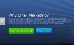 Start Aweber Email Marketing with 1$