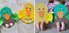 Do you know how much I adore birds and bird crafts? Kids Crafts, Summer Crafts, Diy And Crafts, Arts And Crafts, Paper Crafts, Preschool Themes, Baby Time, Toddler Activities, Diy For Kids