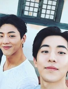Best friends Jisoo and Nam Joo Hyuk Ji Soo Nam Joo Hyuk, Lee Sung Kyung, Korean Star, Korean Men, Asian Actors, Korean Actors, Ji Soo Actor, Jong Hyuk, Ulzzang