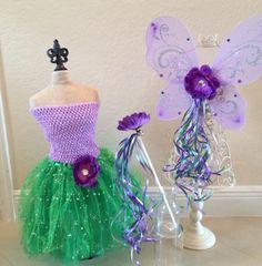 Little Mermaid Costume Fairy Costume Tinkerbell by partiesandfun