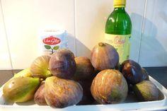 Lees hier hoe je zelf jam maken kunt van vijgen: het recept van eigengemaakte vijgenjam. Plum, Avocado, Healthy Recipes, Healthy Food, Lunch, Canning, Fruit, Chutneys, Dips