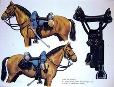 US Mclellan saddle