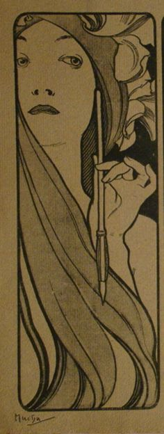 Cover for Estampe Moderne by Mucha