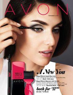 Shop Avon Sales Flyer Campaign 1 & 2 2017 A New You online thru January 10, 2017 #avon #sales #makeup #shoponline