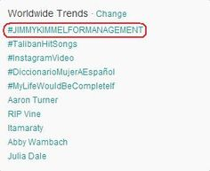 #JIMMYKIMMELFORMANAGEMENT Yes just yes -