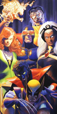 The X-Men - Alex Ross