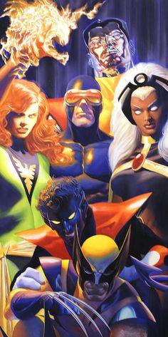The X-Men - Alex Ross