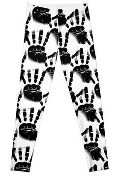 Palm clipart pattern, handprint, stencil BW by cool-shirts 25% OFF selected tees! Use code TEES25 - Also Available as T-Shirts & Hoodies, Men's Apparels, Women's #Apparels, Stickers, iPhone Cases, Samsung Galaxy Cases, Posters, Home Decors, Tote Bags, Pouches, Prints, Cards, Mini Skirts, Scarves, iPad Cases, Laptop Skins, Drawstring Bags, Laptop Sleeves, and Stationeries #design #leggings #clothing #style #fashion #apparel #onsale #sale #funny