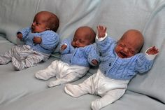 baby triplets | Baby boys born at 24 weeks are most premature triplets to have ...