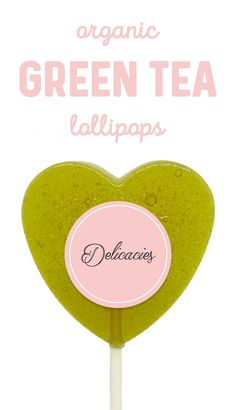 Our Green Tea Lollipops are made from the finest ingredients in small batches, made to order, and sold in a set of four (4). Organic Green Tea, Lollipops, Treat Yourself, Food Coloring, Bakery, Coconut, Homemade, Tootsie Pops