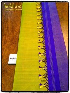 Latest Saree Kuchu/Tassel Designs to Beautify Your Saree - Indian Fashion Ideas Saree Tassels Designs, Saree Kuchu Designs, Saree Blouse Neck Designs, Saree Accessories, Floral Print Sarees, Choli Dress, Wedding Silk Saree, Indian Silk Sarees, Saree Border