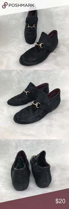 Kensie Calf Hair ankle loafers Great condition. Worn a photo shoot. No Trades Ever Kensie Shoes Flats & Loafers