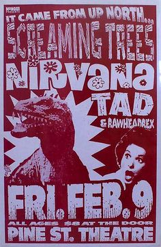 10 Great Grunge-Era Band Posters