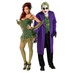 Poison Ivy and The Joker Costume