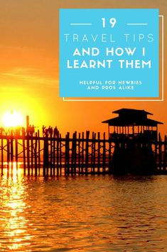 I learnt a lot while travelling on my own for the first time and want to share some of those lessons. Great travel advice for first-time or solo travellers.