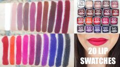 Maybelline The Loaded Bolds Lipsticks