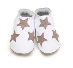 White star baby shoes. #kids #children #baby #toddler #babyshoes #babyclothing #ukmade #leather #minime #style #handmade #stylishkids #mums #babyclothes #madeintheUK