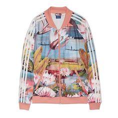 IN LOVE with this Adidas Farm curso d'aqua superstar track jacket.