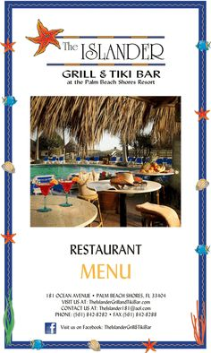 the islander grill & tiki bar singer island