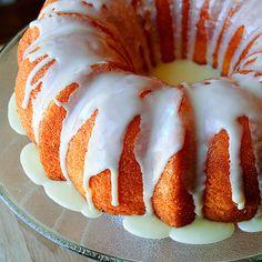 Orange lemon cake, made with jello- link has a ton of jello recipes.