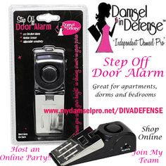 Dorm and Home Defense, Self Defense with Damsel in Defense Shop online 24/7 at www.mydamselpro.net/DIVADEFENSE or message me to book an ONLINE Diva Defense Party and earn FREE Damsel in Defense Products