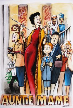 Auntie Mame. One of my favorite movies