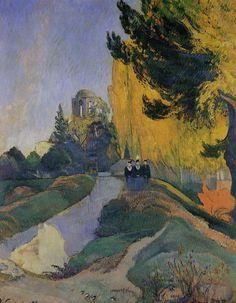 Paul Gauguin - Les Alyscamps