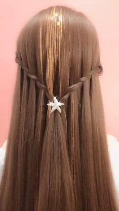 Daily Hairstyles, Headband Hairstyles, Straight Hairstyles, Cool Hairstyles, Hair Tutorials For Medium Hair, Medium Hair Styles, Long Hair Styles, Pakistani Bridal Makeup Hairstyles, Hair Style Vedio