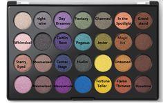 BH Cosmetics Foil Eyes palette Makeup Geek Foiled Shadows DUPE