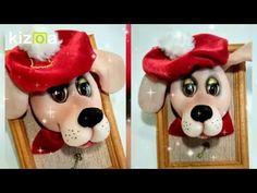 DIY Собачка из капрона, магнит. Символ 2018. How to make a dog a magnet. - YouTube