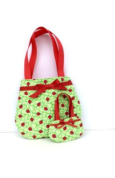 Ladybug Purses Matching Purses for 18 Inch Dolls and their Girls by DonnaDesigned