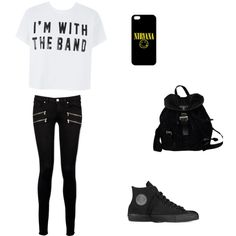 Casual 5sos Outfits, Scene Outfits, Punk Outfits, Tomboy Outfits, Tomboy Clothes, Punk Fashion, Teen Fashion, Alternative Fashion, Types Of Fashion Styles
