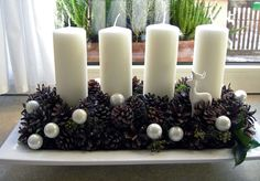 Please visit our website for Advent Candles, Christmas Candles, Christmas Centerpieces, Christmas Love, Xmas Decorations, Holiday Wreaths, Holiday Crafts, Holiday Decor, Pine Cone Crafts