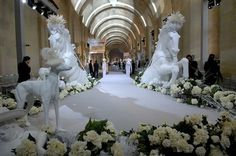 Paris couture shows start with Christian Dior holding catwalk show and party at royal chateau ...