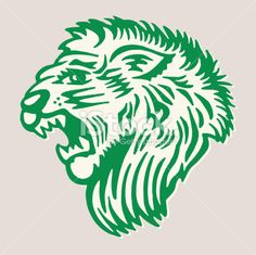Lion Vector, Free Vector Art, Vector Icons, Roaring Lion, Rally, Illustration, Youth, Animals, Animales