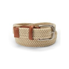 Boys 4-20 IZOD Braided Stretch Belt, Boy's, Size: Medium, Med Beige