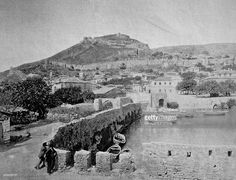 Nachrichtenfoto : One of the first autotype photographs of patras,...