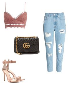 """""""#JP"""" by victoriabajer on Polyvore featuring Zimmermann, Gianvito Rossi and Gucci"""