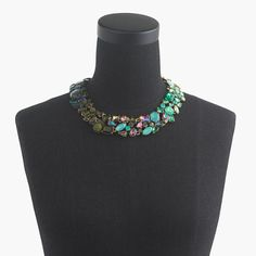 Ombré crystal necklace