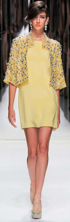 #Jenny Packham Spring Summer 2013 Ready-To-Wear Collection - Dresses  #Evening Jacket
