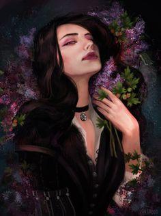 "misa0o0: ""  Berries tart and lilac sweet ~ """