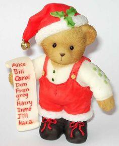 Heidi´s Cherished Teddies Galerie: MACK - Santa's Watching, Make Him Proud (4010095)