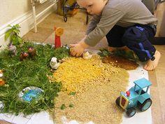 Natural Sensory Small World Farm (Photo from Creative Playhouse)