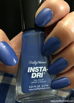 Check out @nailmypolish Full Review Here —> http://www.nailmypolish.com/sally-hansen-insta-dri-nail-polish-review-2016/   Sally Hansen Insta-Dri Nail Polish Review by Nail My Polish