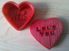 Message Heart Box by JadeKnight.