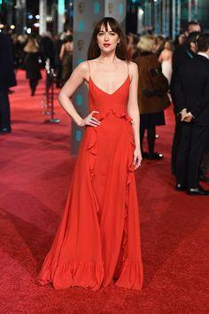fotos alfombra roja BAFTA 2016 Londres