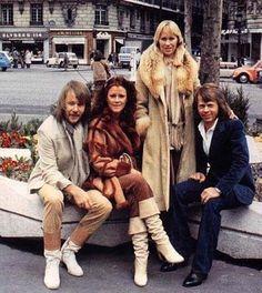 ABBA in Paris, 1978.